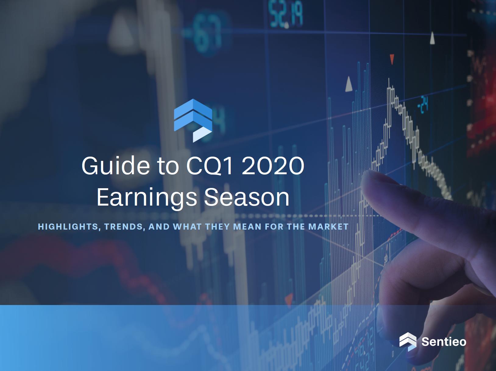 Guide to CQ1 2020 Earnings Season Cover