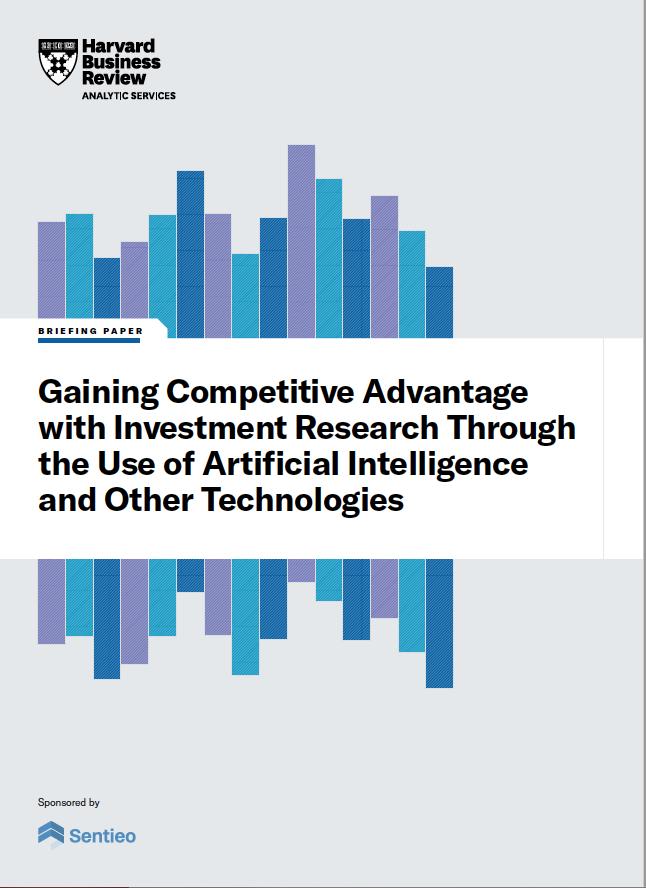 Harvard Business Review - Sentieo Briefing Paper - 2021