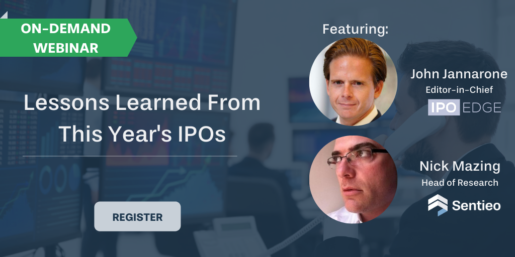 On-demand 1019 Webinar_ Lessons learned from this years IPOs